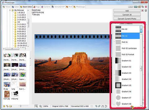 截圖 PhotoScape Windows XP