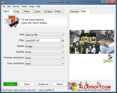 截圖 VueScan Windows XP