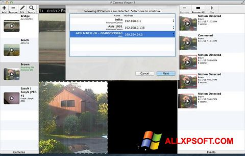 截圖 IP Camera Viewer Windows XP