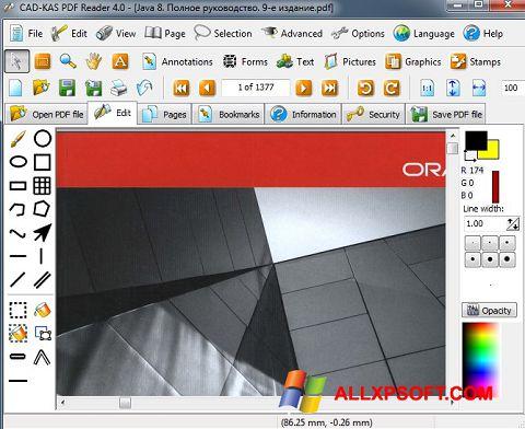 截圖 PDF Reader Windows XP