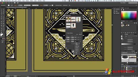 截圖 Adobe Illustrator Windows XP