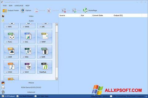 截圖 Format Factory Windows XP
