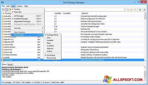 截圖 ActivePerl Windows XP