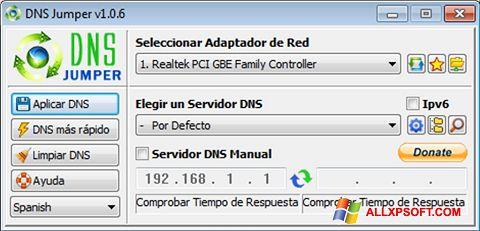 截圖 DNS Jumper Windows XP