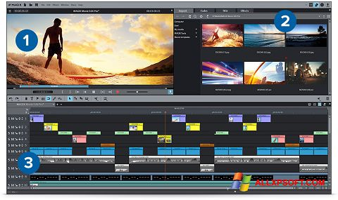 截圖 MAGIX Movie Edit Pro Windows XP