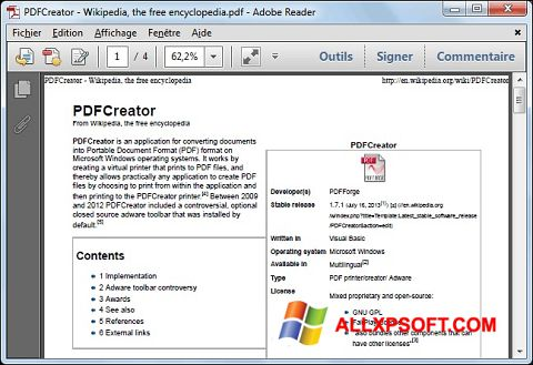 截圖 PDFCreator Windows XP