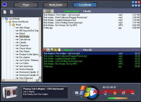 截圖 Online TV Live Windows XP