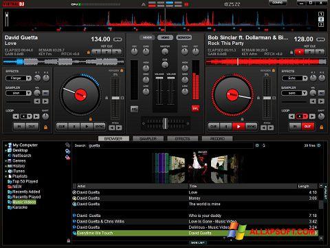 截圖 Virtual DJ Pro Windows XP