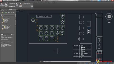截圖 AutoCAD Electrical Windows XP