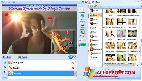截圖 Magic Camera Windows XP