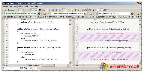 截圖 Beyond Compare Windows XP