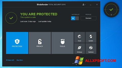 截圖 Bitdefender Windows XP