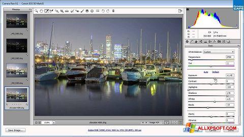 截圖 Adobe Camera Raw Windows XP