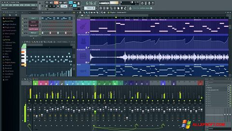 截圖 FL Studio Windows XP