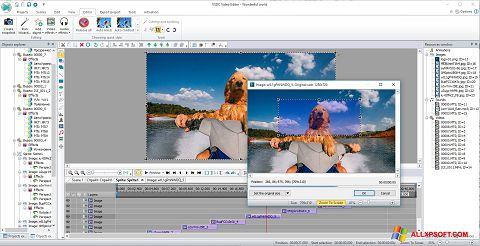 截圖 VSDC Free Video Editor Windows XP