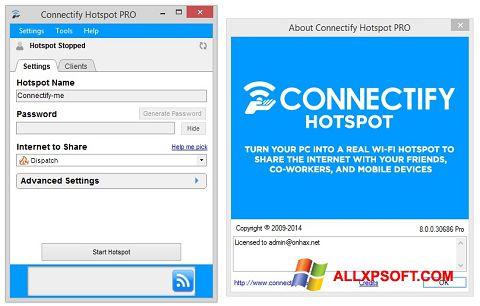 截圖 Connectify Hotspot PRO Windows XP