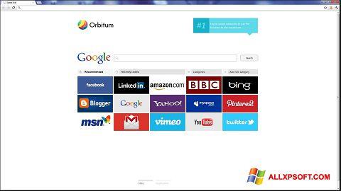 截圖 Orbitum Windows XP