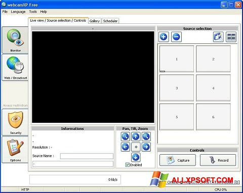 截圖 webcamXP Windows XP