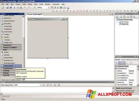 截圖 Microsoft Visual Studio Windows XP