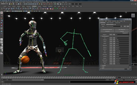 截圖 Autodesk Maya Windows XP