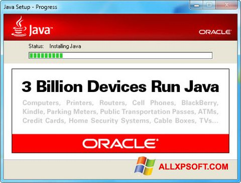 截圖 Java Runtime Environment Windows XP