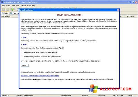 截圖 CommView for WiFi Windows XP