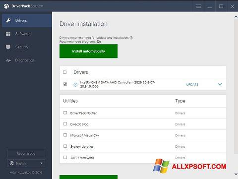 截圖 DriverPack Solution Windows XP