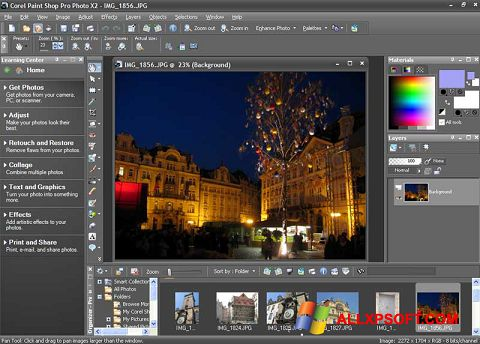 截圖 PaintShop Pro Windows XP