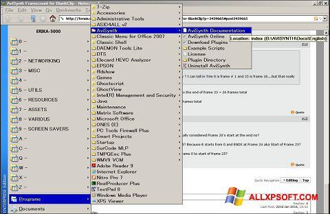 截圖 AviSynth Windows XP