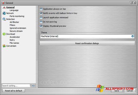 截圖 VSO Downloader Windows XP