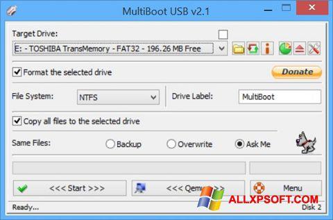截圖 Multi Boot USB Windows XP