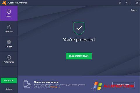 截圖 Avast Free Antivirus Windows XP