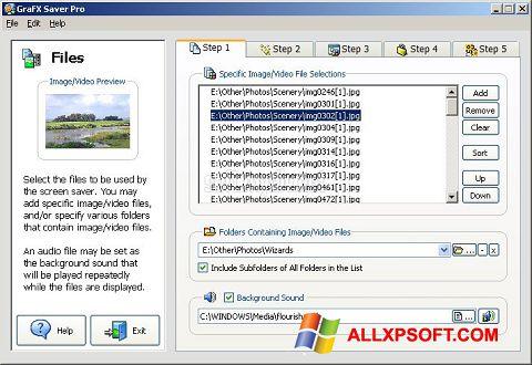 截圖 VideoSaver Windows XP