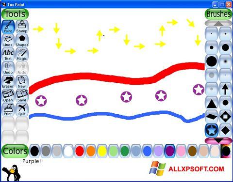 截圖 Tux Paint Windows XP
