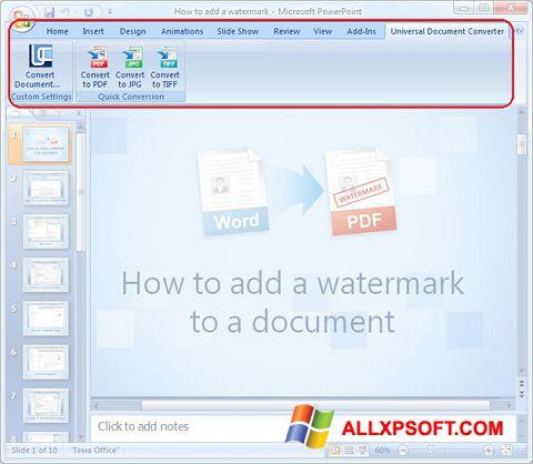 截圖 Microsoft PowerPoint Windows XP