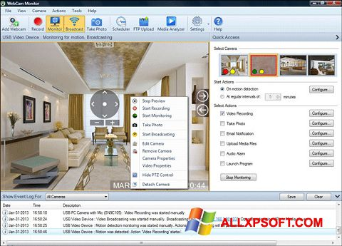 截圖 WebCam Monitor Windows XP