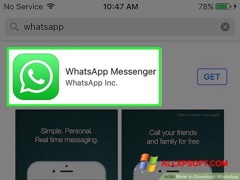 截圖 WhatsApp Windows XP
