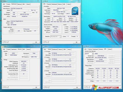 截圖 CPU-Z Windows XP