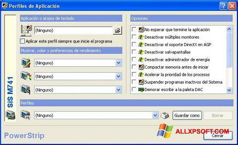 截圖 PowerStrip Windows XP