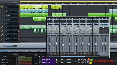 截圖 MAGIX Music Maker Windows XP