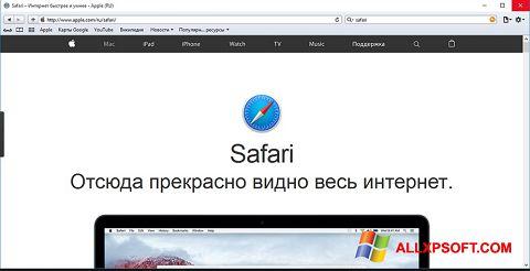 截圖 Safari Windows XP