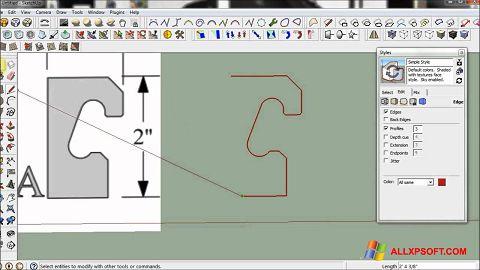 截圖 SketchUp Windows XP