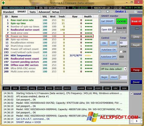 截圖 Victoria Windows XP