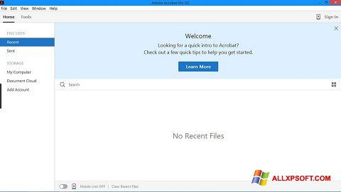 截圖 Adobe Acrobat Pro Windows XP