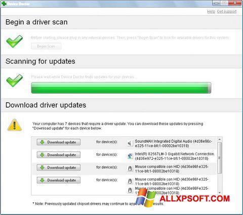 截圖 Device Doctor Windows XP