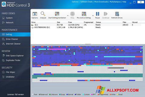 截圖 Ashampoo HDD Control Windows XP
