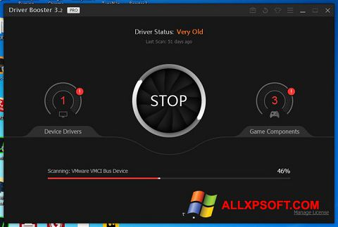 截圖 Driver Booster Windows XP
