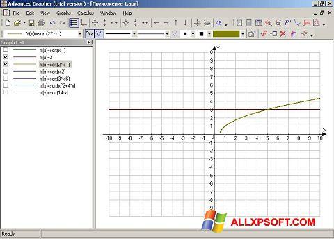 截圖 Advanced Grapher Windows XP