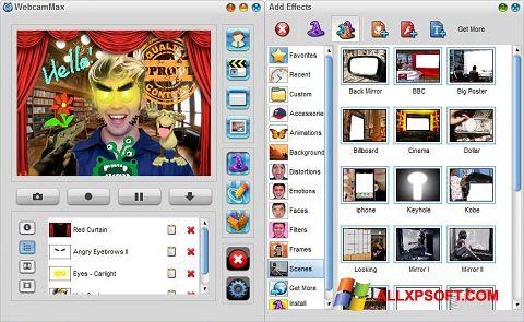 截圖 WebcamMax Windows XP