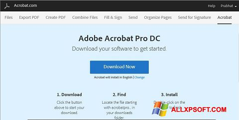 截圖 Adobe Acrobat Windows XP